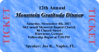12th Annual Mountain Gratitude Dinner